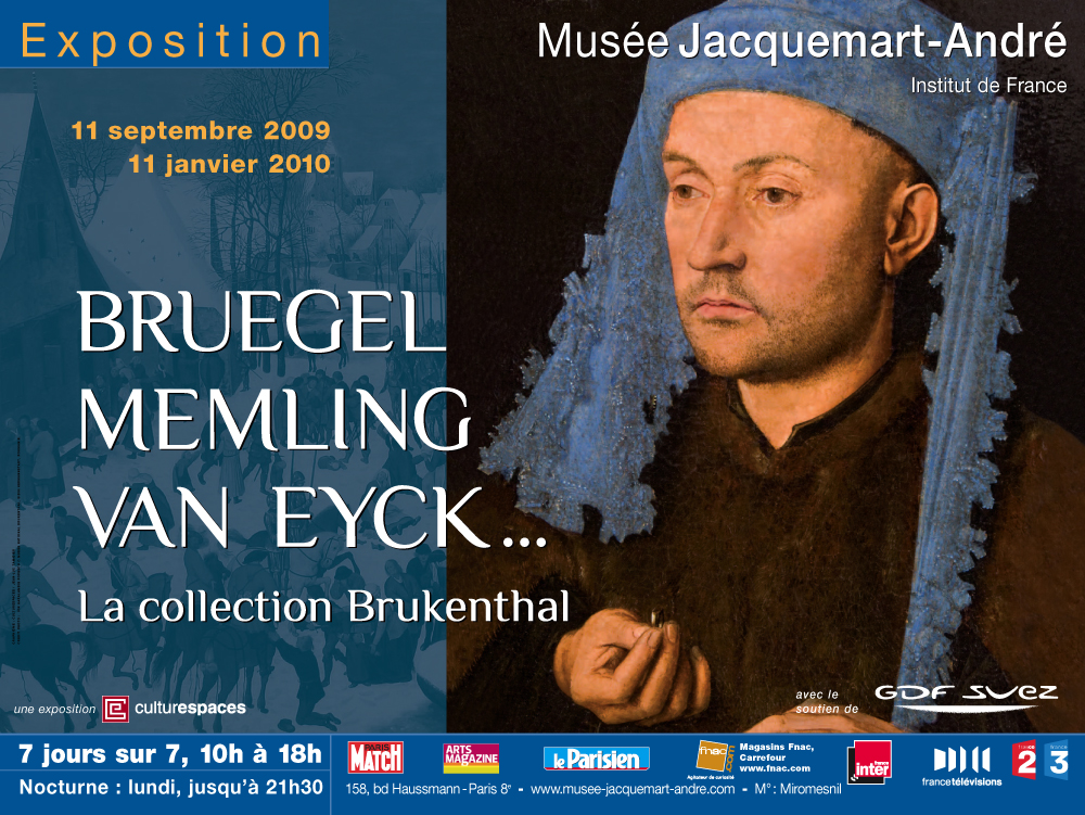 exposition bruegel memling van eyck la collection brukenthal au mus e jacquemart andr. Black Bedroom Furniture Sets. Home Design Ideas